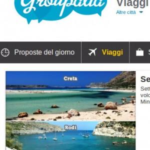 Groupalia Vacanze Mare Offerte Agosto