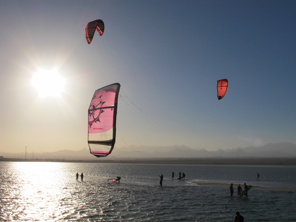 kitesurf e windsurf nel mar rosso