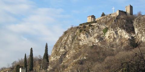 Il Castello dell'Innominato a Somasca in Veduta Aerea!