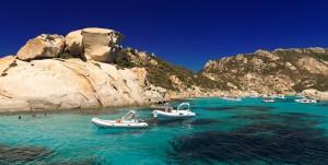 Le spiagge di Castelsardo e la Rocca nel golfo dell'Asinara