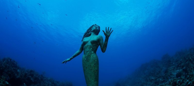 Le statue sommerse più famose del mondo