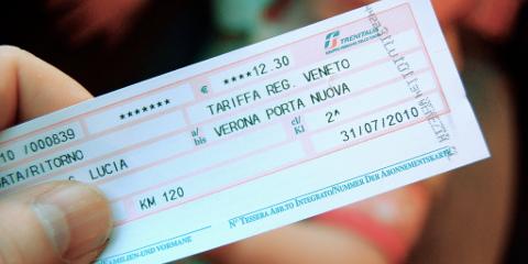 Carnet Trenitalia Regionale