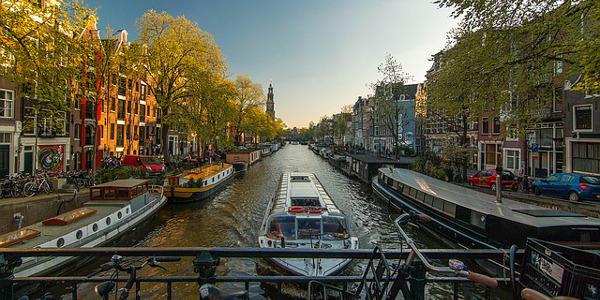 Ponte Ognissanti ad Amsterdam