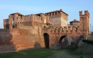 In Lombardia il Borgo di Soncino, vicino Cremona