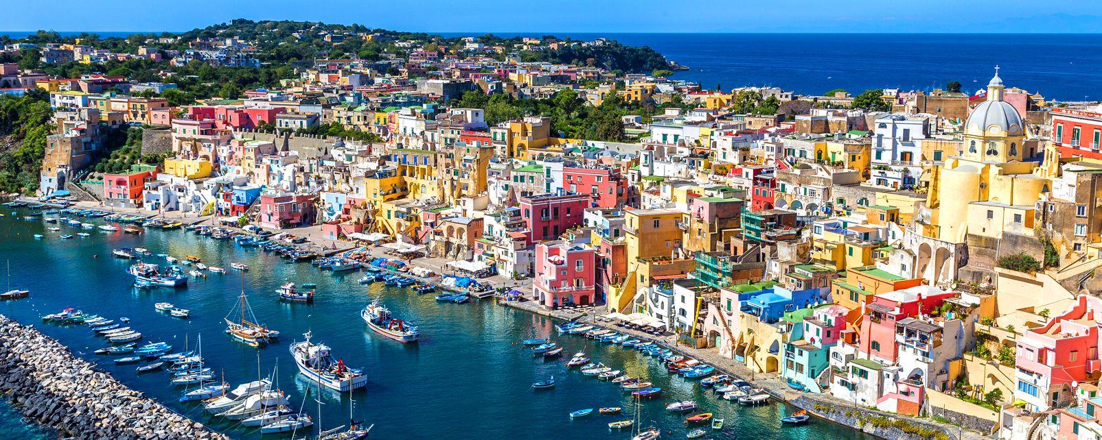 L'Isola di Procida e l'Isola di Vivara, le Isole del Golfo di Napoli