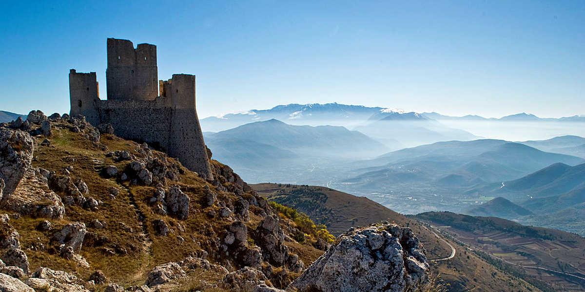 Rocca Calascio il castello più famoso d'Abbruzzo