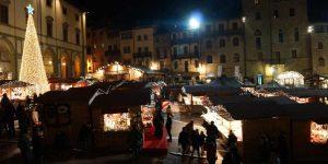 I Mercatini di Natale di Arezzo, ci siamo stati