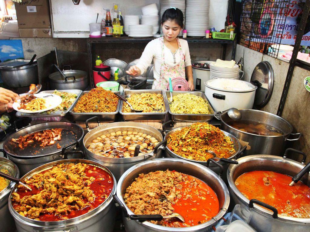 Bangkok hotel e dove mangiare