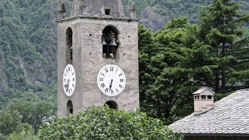 Arnad in Val d'Aosta