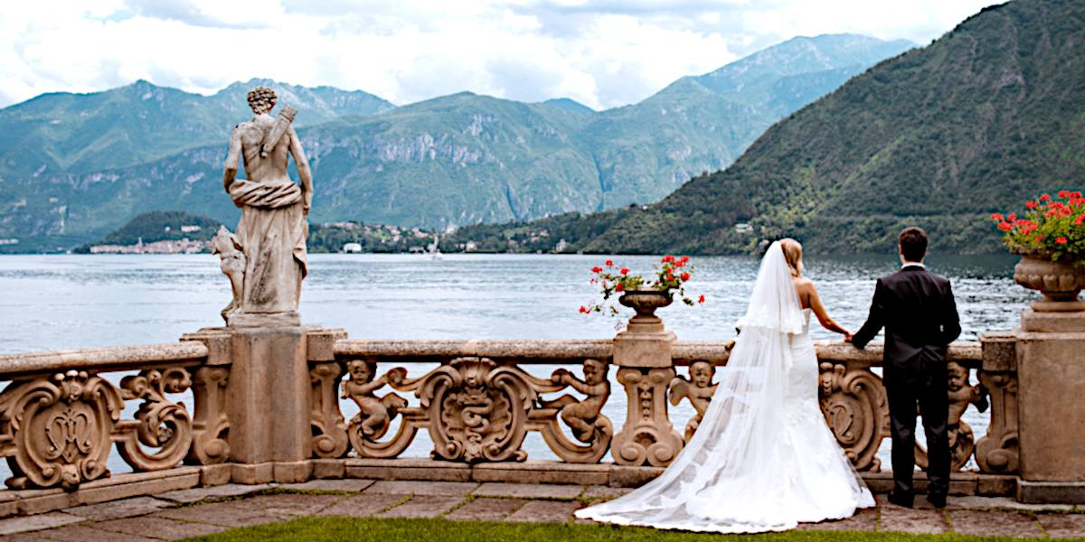 Le destinazioni turistiche più apprezzate dagli stranieri scelte come location per matrimoni
